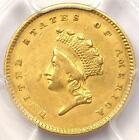 1854 Type 2 Indian Gold Dollar (G$1 Coin) - PCGS AU Details - Rare Type!