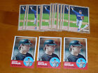 Lot (20) NATHAN EOVALDI 2011 +2012 Topps Heritage Minor League Rookie Cards Rays