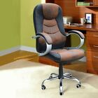 PU leather Executive Office Task Chair Computer Desk High black