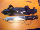 VINTAGE JAPAN SCUBA DIVERS STAINLESS STEEL KNIFE NEW OLD STOCK MODEL 12522