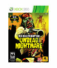 Red Dead Redemption: Undead Nightmare  (Xbox 360, 2010) USED