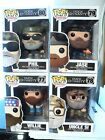 POP FUNKO DUCK DYNASTY SET OF 4 PHIL, UNCLE SI, JASE,AND WILL NEW IN BOX