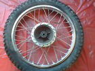 REAR WHEEL            1974 1975 1976 Suzuki TC125 TC 125 S112