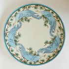 Lrg Coover Peacock & Branches Thomas Sevres Bavaria Porcelain Plate Signed Paist
