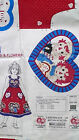 Cut & Sew Panel Raggedy Ann & Andy #4384 Fabric Daisy Kingdom Jumper