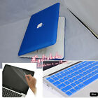 3in1 Royal Blue Rubberized Hard Case Cover Skin for Macbook White 13