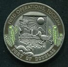 US customs & Border Protection CBP Tucson  Fields Operation Challenge Coin Medal
