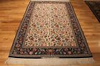 5 x 7 AUTHENTIC MINT COND FINE PERSIAN ESFAHAN ISFAHAN TABRIZ TREE OF LIFE RUG