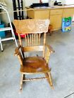Vintage Solid Wood Hand made Rocking Chair Great Design