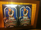 2014 TOPPS CHROME BASEBALL HOBBY BOX 4 BOX LOT