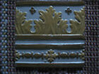 Antique Vintage Portuguese Raised Decorative Tile - Ceramic Art of Portugal