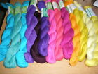 Needlepoint Yarn Lot Persian 3ply Wool Tapestry crewel 13 bright colors 520 yd