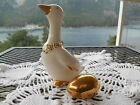 Vintage Salt & Pepper Shakers THE GOOSE THAT LAID THE GOLDEN EGG Good Condition!