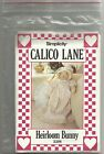 Heirloom Bunny Sewing Pattern Simplicity 3208 Calico Lane Easter Rabbit Doll