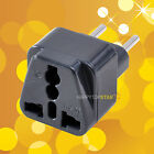 UK/US/EU/AU to EU EUROPE Travel Power Adapter Plug for for Camera Laptop PC