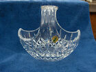 Waterford Crystal Lismore Easter Basket - New in Box