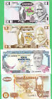 Zambia 1 2, 10 & 500 Kwacha  Note P-23a, 24c, 31b & P-39a, 4 notes  UNCIRCULATED