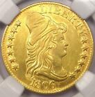 1806 Capped Bust Half Eagle $5 - NGC AU Details - Very Rare Date Gold Coin