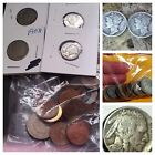 JUNK DRAWER 2 Silver Mercury Dimes,1v &1 Buffalo Nickel + 24 Foreign Coins