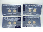 Set of 4 Westward Journey Commemoratives Nickel Series Jefferson  Series 1 and 2