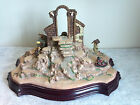 Collectible Hawthorne Village NATIVITY TREE Song Silent Night Music Box