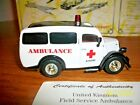 Matchbox Collectibles United Kingdom Field Serve Ambulance 1950 Ford E 83W