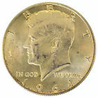 1964-D 50C Kennedy Half Dollar UNITED STATES SILVER COIN AUTHENTIC NO RESERVE