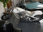 Custom Built Motorcycles : Chopper 2008 custom built chopper motorcycle beautiful built white with lots of chrome