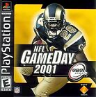 NFL GameDay 2001  (Sony PlayStation 1, 2000)