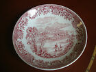 1891 Antique Rare W Adams & Co  England Northern Scenery Plate. 19th Cent