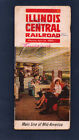 ILLINOIS CENTRAL PASSENGER TRAIN RAILROAD TIME TABLE 1964