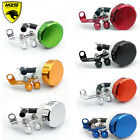 For Ducati Motorcycle Universal Aluminum Brake Fluid Reservoir Master Cylinder