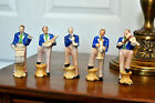 MINIATURE FIGURINE - MADE IN OCCUPIED JAPAN - BAND OF MUSICIAN