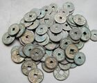 Collect 50pcs Chinese Copper Coin China Old Dynasty Antique Currency Cash