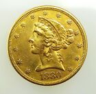 1880 American Liberty Head $5 Dollar Gold Eagle Coin