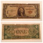 VINTAGE HAWAII STAR 1935-A $1 SILVER CERTIFICATE ONE DOLLAR CURRENCY BROWN SEAL
