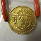 Norway 1879 Gold 20 Kroner, RARE COIN, SUPER GRADE, HIGH VALUE!!!!S/H discount!
