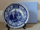 WEDGWOOD PLATE - ROYAL FAMILY COLLECTION -  MARRIAGE OF PRINCE CHARLES - BOXED