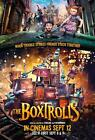 The Boxtrolls Movie POSTER 27 x 40 Ben Kingsley, Jared Harris, Nick Frost, UKA