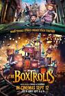 The Boxtrolls Movie POSTER 11 x 17, Ben Kingsley, Jared Harris, Nick Frost, UKA