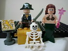 LEGO Minifigure Pirates of the Caribbean Skeleton lot Jack Sparrow Mermaid #PC3