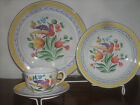 Herend Village Pottery Morning Song 1-dinner, 1-salad, 1-cup&saucer new
