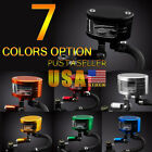 7Color Brake Reservoir Oil Fluid Cup Universal For Yamaha Honda Suzuki 60mm*42mm