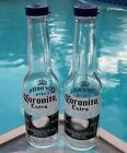 CORONA SALT AND PEPPER SHAKERS 1 pair of 7oz Coronita extra bottles and caps