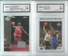 2 CARD ROOKIE LOT LEBRON JAMES 2003 UD & 2008 TOPPS KEVIN LOVE RC CAVALIERS