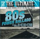 VARIOUS ARTISTS - THE ULTIMATE 80'S POWER BALLADS: 2CD SET (2011)