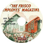 Frisco Employee's Magazine {185 Issues of Vintage Railroading History} on DVD