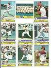 1979 Topps REDS Team Lot ROSE BENCH SEAVER MORGAN GRIFFEY CONCEPCION KNIGHT