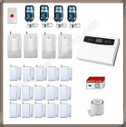 WIRELESS HOME SECURITY SYSTEM DOOR WINDOW PANIC BURGLAR ALARM w AUTO DIALER