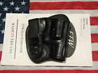 ETW Holsters SW J Frame IWB holster w clip tuckable RH black leatherNEW